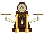 Steampunk Clock 01 PNG Stock