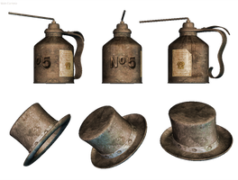 Steampunk PNG Stock by Roy3D