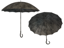 Steampunk Umbrella PNG Stock by Roy3D