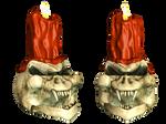 Skull 03 PNG Stock