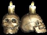 Skull 04 PNG Stock