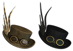 Gothic Hat PNG Stock