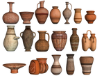 Pottery 02 PNG Stock