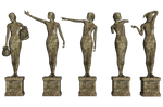Statues 01 PNG Stock