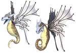 Fantasy Fairy Dragon 01 PNG Stock