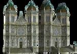 Fantasy Building 02 PNG Stock