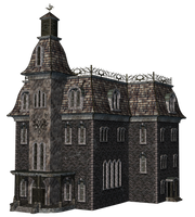 Haunted House 09 by Roy3D