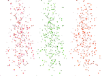 Scattered Leaves and Petals PNG Stock 01