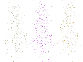 Scattered Leaves and Petals PNG Stock 02 by Roy3D