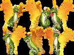 Fantasy Fairy Dragon 04 PNG Stock