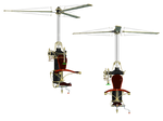 Steam Copter PNG Stock