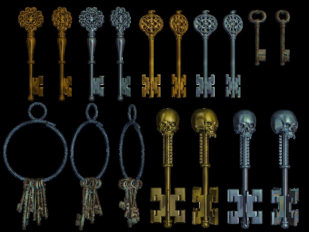 Keys PNG Stock