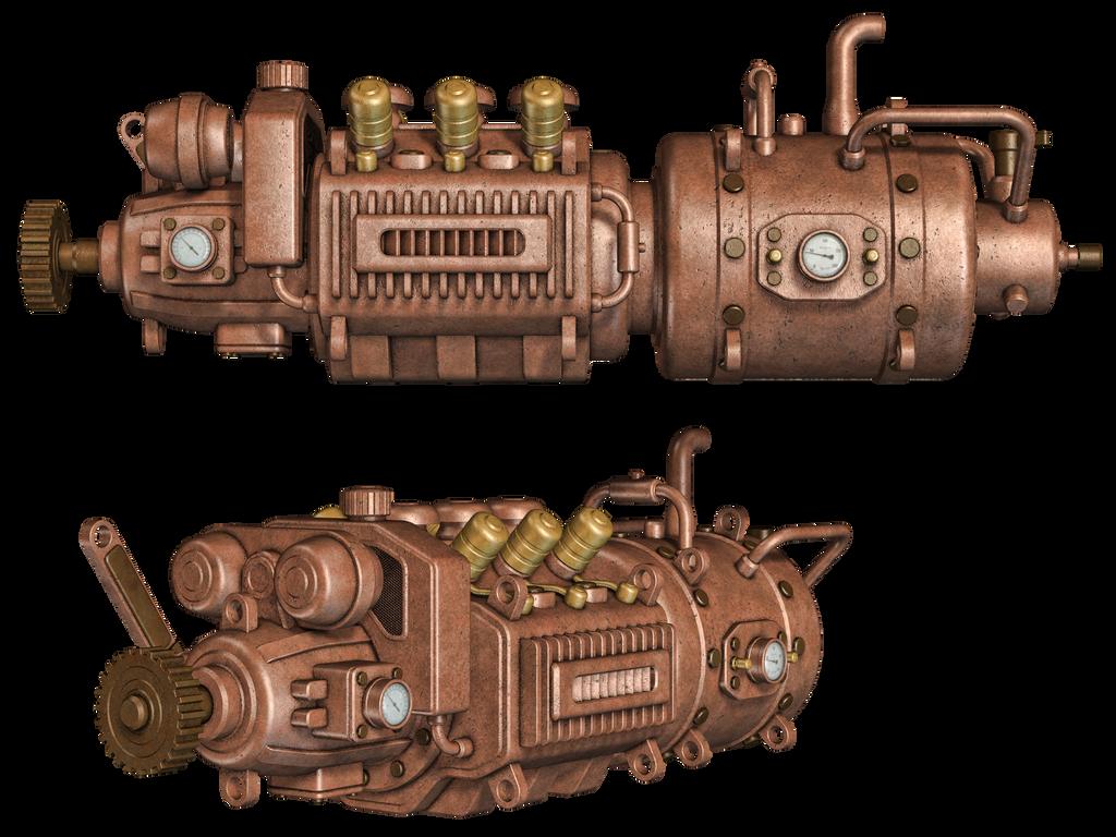 Steampunk Engine