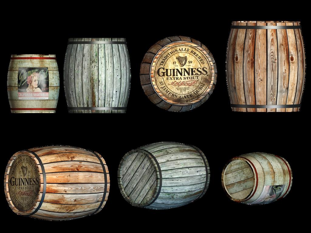 Barrels PNG Stock