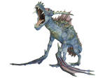 Water Dragon 06 PNG Stock Pack