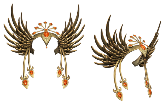 Headpiece PNG Stock