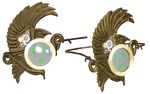 Steampunk Eyepiece PNG Stock