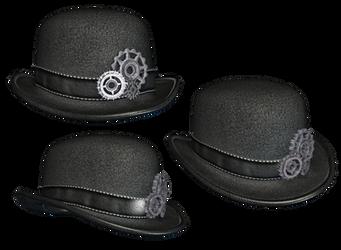 Steampunk Hat by Roy3D