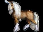 Unicorn 03 PNG Stock