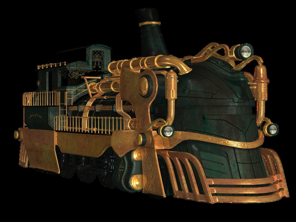 steampunk train 02 png stock by roy3d on deviantart. Black Bedroom Furniture Sets. Home Design Ideas