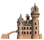 Castle 22 PNG Stock