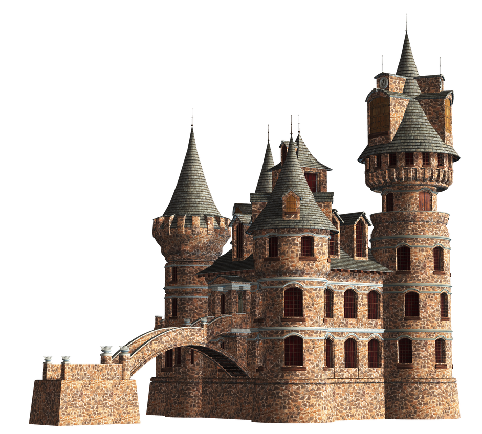 Castle 23 PNG Stock by Roy3D on DeviantArt