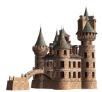 Castle 23 PNG Stock