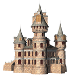 Castle 24 PNG Stock