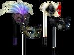 Masks 2 PNG Stock