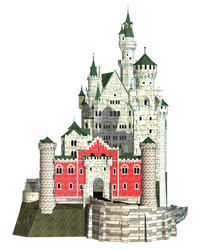 Castle 25 PNG Stock by Roy3D