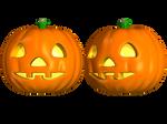 Spooky Halloween Pumpkin 2 Stock