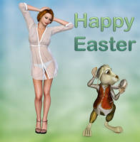 Happy Easter by Roy3D