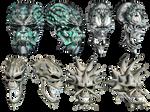 Fantasy Skulls 4