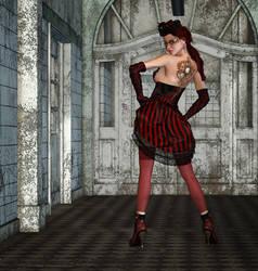 Steampunk Fashion by Roy3D
