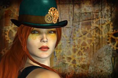 Steampunk Dreams by Roy3D