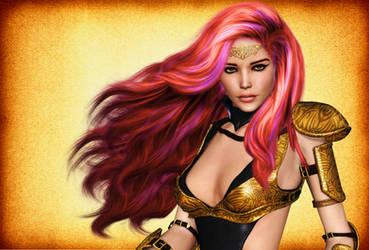 Fantasy  Warrior Queen by Roy3D