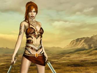 Fantasy Warrior by Roy3D