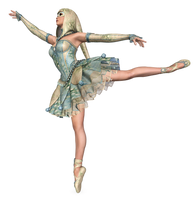 The Dancing Jester PNG Stock by Roy3D