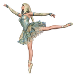 The Dancing Jester PNG Stock