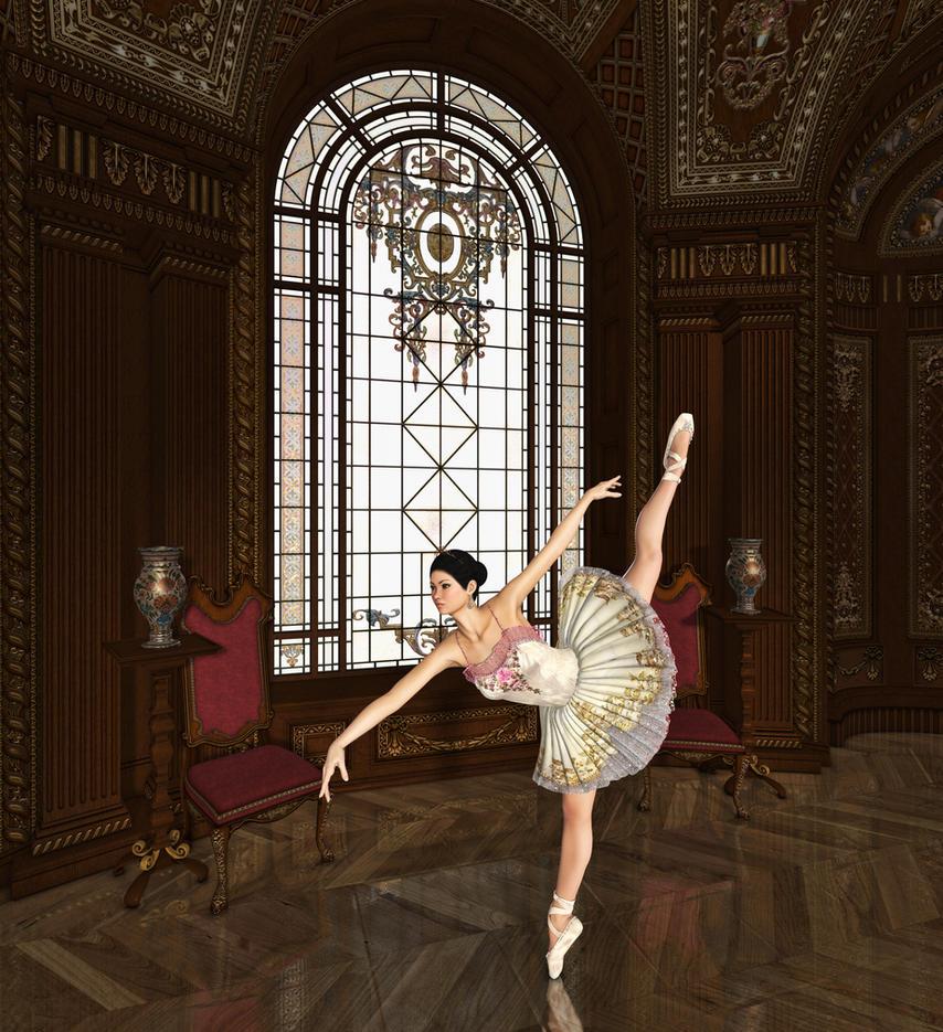 En puntas y a volar - Página 4 The_ballerina___for_mom_espeace__by_roys_art-d8wh1ea