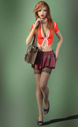 School Uniform by Roy3D