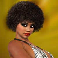 Afro Portrait  by Roy3D