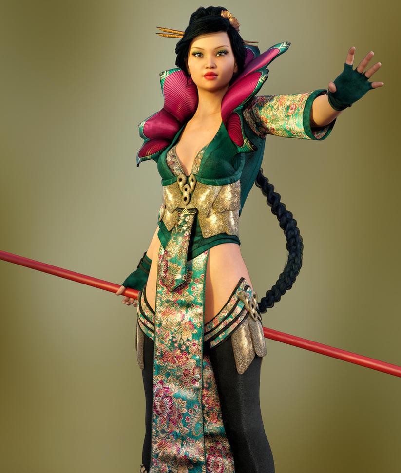 Mei Lin by Roy3D