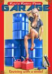 Pinup Retro Garage Poster 02