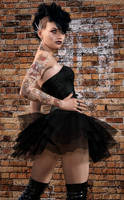Punk Ballerina by Roy3D