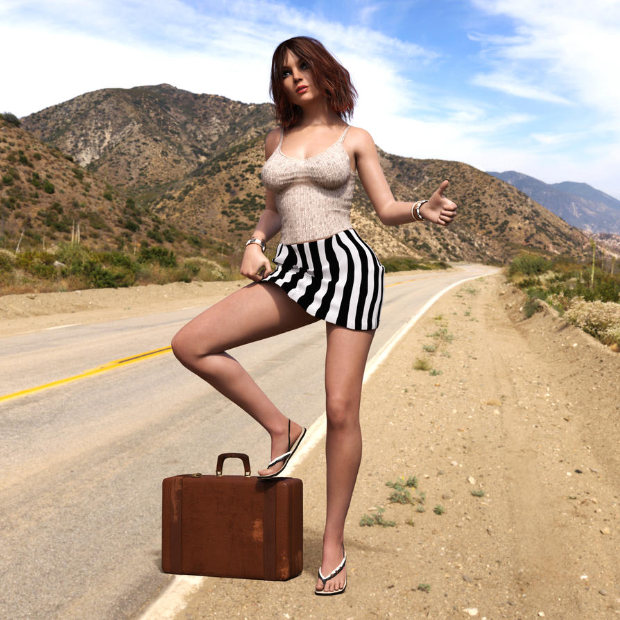 The Hitch Hiker by Roy3D