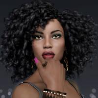 Raenia Portrait by Roy3D