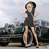 My New Chauffeur by Roy3D