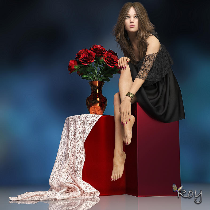 Pretty As A Picture by Roy3D