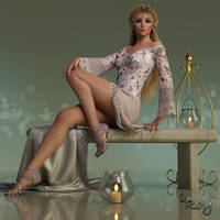 Bench Pose by Roy3D